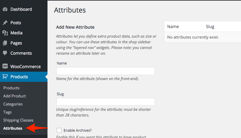 Attributes_Woo_Commerce_WordPress