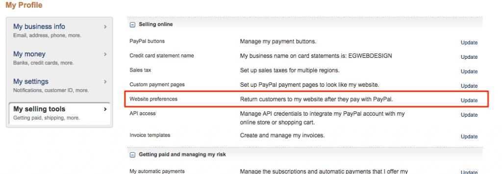 WooCommerce - Setting up PayPal & IPN correctly  - EG Web Design