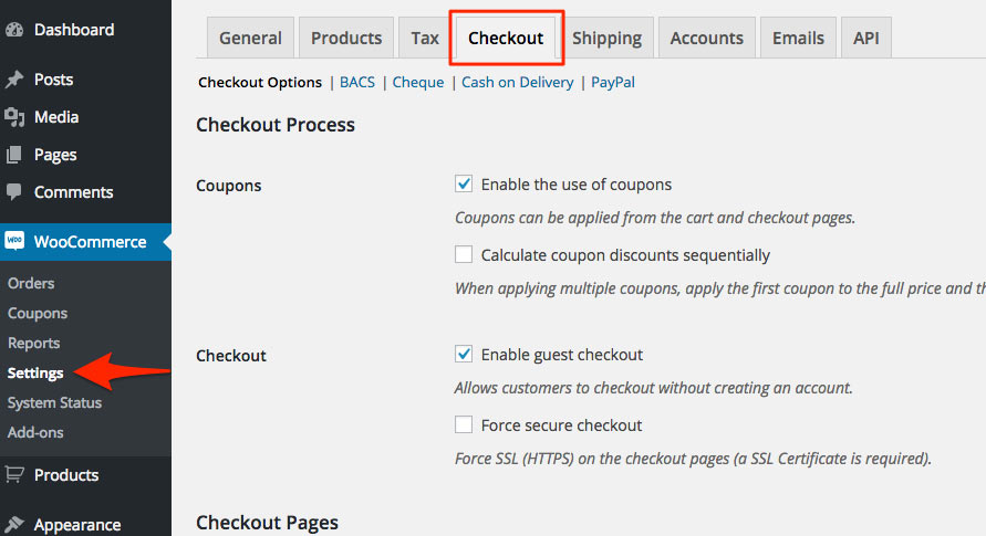WooCommerce_Settings_checkout