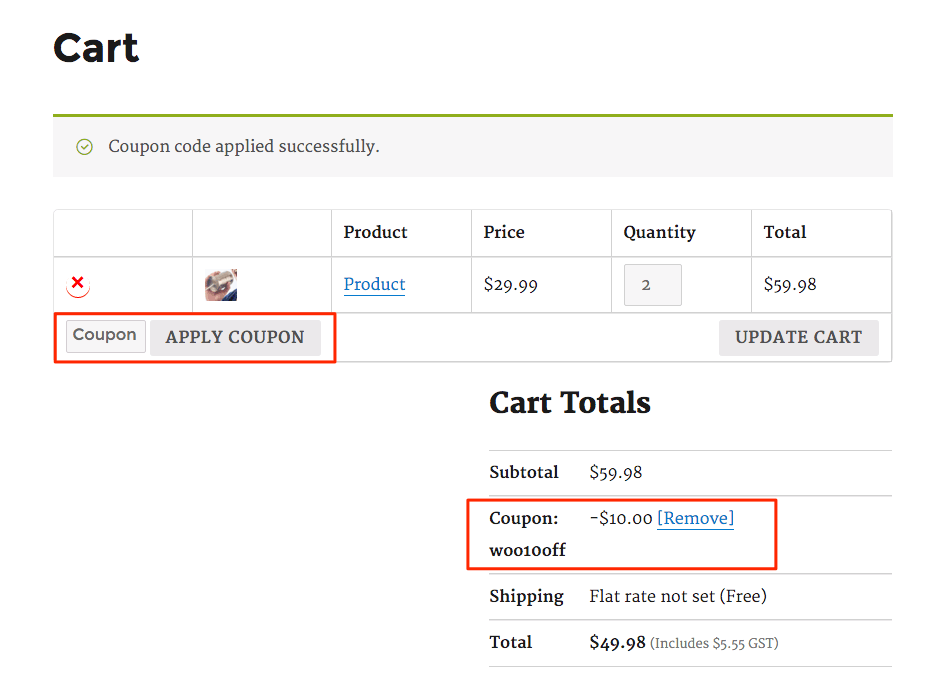 Cart_Coupon_discount_WooCommerce