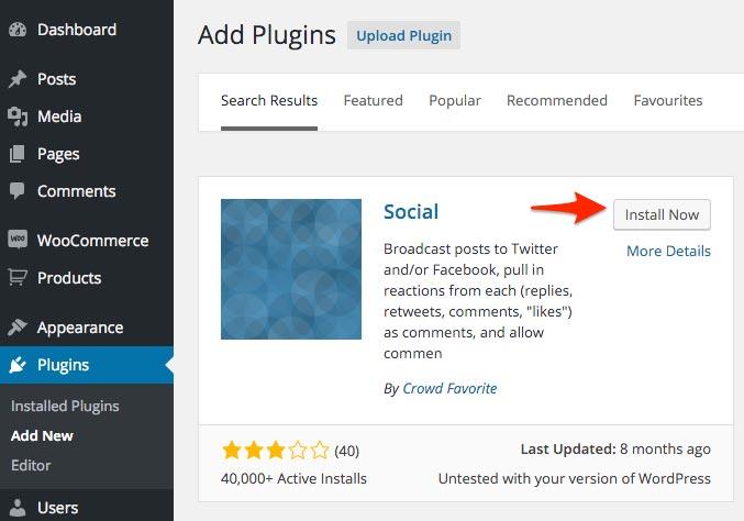 Install_Socail_Plugin